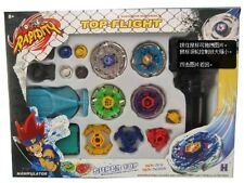 4D SYSTEM METAL FUSION BEYBLADE SUPER TOP 4 LOTS BOX SET