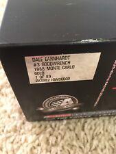 1988 Dale Earnhardt Sr GOLD 1:24 Monte Carlo  RARE (released In 2010) 1 OF 89