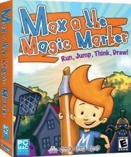 MAX and the MAGIC MARKER    Interactive 2D Platformer Game  Win Mac  NEW