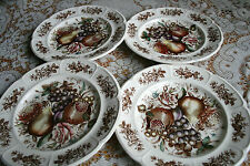 Johnson Brothers, WINDSOR FRUIT, 4 large flat dishes, Windsor ware, Johnson Bros