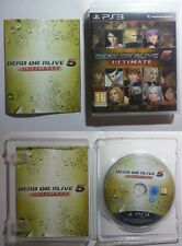 Dead or Alive 5 Ultimate - Sony PlayStation 3 - PS3 - ITA - Raro