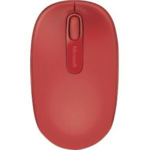 Microsoft 1850 Wireless Mouse Flame Red - Radio Frequency - USB 2.0 Interface -