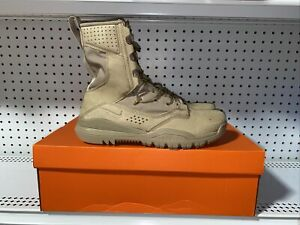 """Nike SFB Field 2 Mens 8"""" Tactical Hiking Military Infantry Boots Size 12 Desert"""