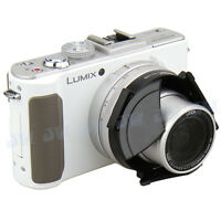 JJC Self-retaining Auto Open Close Lens Cap for Panasonic DMC-LX7 & Leica D-Lux6