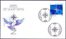 BRD 1999: NATO 50 Jahre! FDC Nr 2039 mit sauberen Bonner Sonderstempeln! 1A 1806
