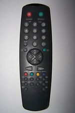 BUSH TV REMOTE CONTROL for 1498NTX 2035T black- battery hatch missing