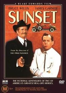 Sunset (DVD, 1988) Bruce Willis James Garner Rare Movie OOP