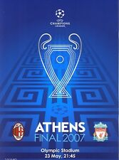UEFA CHAMPIONS LEAGUE FINAL 2007: AC Milan v Liverpool
