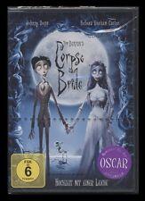 DVD CORPSE BRIDE - HOCHZEIT MIT EINER LEICHE (Regie: Tim Burton) *** NEU ***