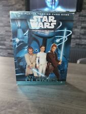 STAR WARS - Attack of The Clones - Two Player Trading Card Game. Complete