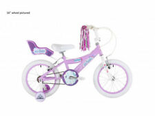 Bicicleta de montaña rosa de acero