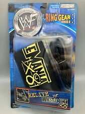 WWF Ring Gear Series 6 VGC Rare Jakks Wrestlemania X8 Ring Skirt & Ropes WWE 18