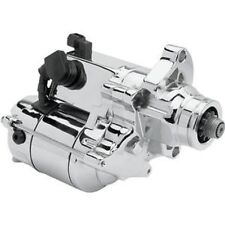 CHROME 1.4kw STARTER HIGH TORQUE HARLEY SOFTAIL DYNA TOURING BIG TWIN 2006-2017