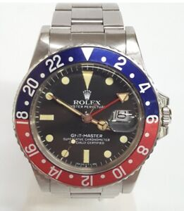 Rolex GMT Master 16750 Stainless Steel Mens Watch