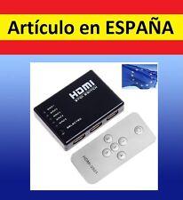 MANDO ADAPTADOR señal HDMI 1a5 cable split television audio video tv desdoblador