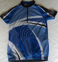 Cycling Jersey By Crivit Sports Size Medium 38/40 Short Sleeve Pocket At Back