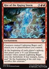 RITE OF THE RAGING STORM Commander 2015 MTG Red Enchantment Unc