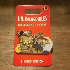 Wdw Incredibles 15 Years Family Dinner Le 3000 Disney Pin