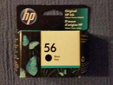HP 56 Black Ink Cartridge C6656AN New In Box  AUG 2022