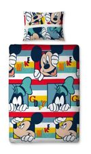 Disney Mickey Mouse Play Single Rotary Children Duvet Cover Quilt Cover Set