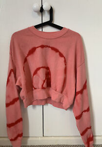 Reclaimed Vintage, Loving youth Oversized Cropped Jumper Size XL