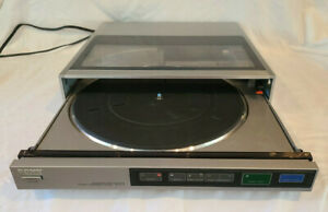 SONY Turntable PS-FL77 Record Player w/ Shure Presence 8 Cart. & New Stylus