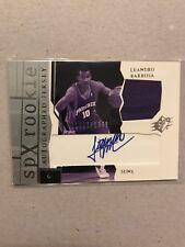NBA Jersey/auto Card Leandro Barbosa Upperdeck SPX 2003-04 1684/1999