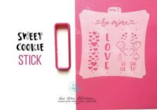 San Valentino Sweet Cookie Stick Love Amore Formine Per Biscotti Cookie Cutter