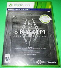 The Elder Scrolls V: Skyrim -- Legendary Edition Xbox 360 *New! *Free Shipping!