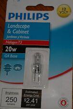 PHILIPS LANDSCAPE &CABINET Halogen T3 20W G4 BASE