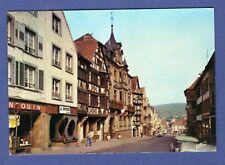 Q* Carte postale CPSM Saverne -> Bas-Rhin -> 67 -> Grand'Rue -> Alsace.