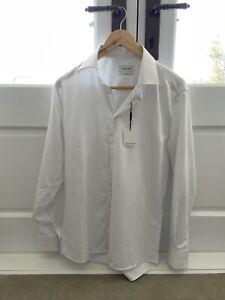 Calvin Klein Slim Fit mens dress Shirt BNWT Size 39