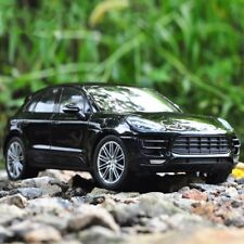 Porsche Macan Model Cars Toys 1:24 Open two doors Collection Alloy Diecast Black