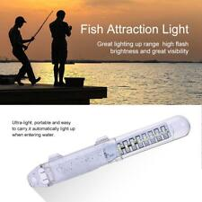 LED GREEN UNDERWATER SUBMERSIBLE NIGHT FISHING LIGHT crappie Shad squid boat New