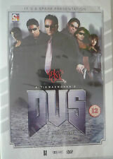 DUS - BOLLYWOOD DVD - Sunjay Dutt, Sunil Shetty, Abhishik Bachchan