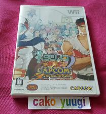 TATSUNOKO VS CAPCOM CROSS GENERATION OF HEROES NINTENDO WII JAPAN VERSION MINT