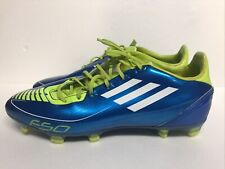 Adidas F50 Mens Soccer Cleats Traxion Men's Size 10 Neon Green Blue .