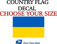 5YR VINYL STATE FLAG FRENCH COUNTRY FLAG STICKER DECAL