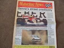 Motoring News 13 March 1991 RAC Historic& Portugal Rally Pheonix US GP CART