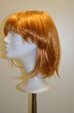 PARRUCCA rossa biondo ca. 29cm lungo parrucca Pos P15