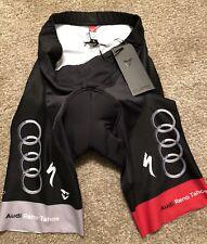 Audi Cycling Team Bib Shorts - Size Large - Black - New, Never Worn