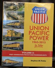 MORNING SUN BOOKS 1621- UNION PACIFIC POWER 1965-2015 In Color Vol. 2-HC 128 Pg.