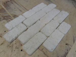 *KAPRI* Set of 11 Molds Stone VENEER for Concrete Plaster Wall Stone Brick Tiles