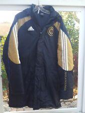 Adidas ClimaWarm MLS Philadelphia Union Soccer Winter Sideline Coat Jacket Sz M