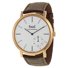 Piaget Altiplano Automatic Silver Dial Mens Watch G0A35131