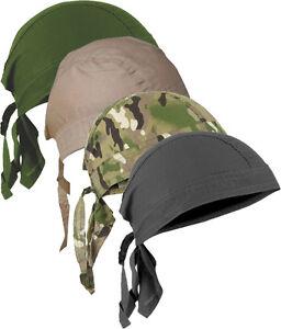 TACTICAL BANDANA MILITARY TRADITIONAL HEADWRAP DOO RAG COVER COTTON ZANDANA ARMY