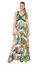 Desigual Elegante Maxi Vestido Estampado África Nenat 36-46 Reino Unido 8-18 RRP £ 109