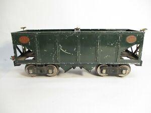 Standard Gauge Lionel 216 Hopper Dark Green Early Prewar X7543