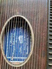 Zither Zupfinstrument Anfang 19. Jahrhundert Vintage Antik alt  ohne Zubehör