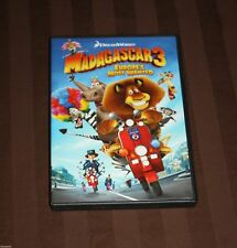 Madagascar 3: Europe's Most Wanted (DVD, 2012) KIDS DREAMWORKS DVD
